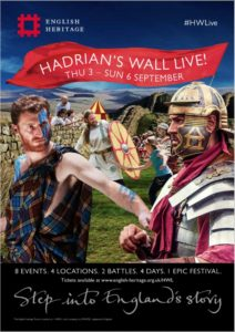 3-7 settembre - The Romans Are Coming: Vallo di Adriano @ Birdoswald Roman Fort (Hadrian's Wall) | Regno Unito