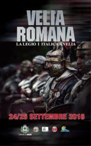 24 - 25 settembre - Velia Romana - Ascea Marina (SA) @ Marina di Ascea | Campania | Italia