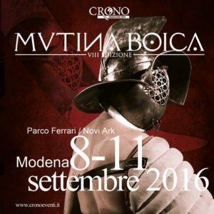 10 - 11 settembre - Mutina Boica - Parco Ferrari, Modena